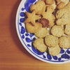 息子とクッキー作り
