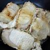 豚肉ソテーと味噌汁