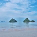 クラビでの「アイランドホッピング ツアー」~やはりクラビではビーチだけでなく、島にいかなくては!!