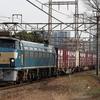 貨物列車撮影 12/24 ネタ釜祭りの川崎界隈 5095レ、5086レ、5094レなど