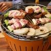 【おもてなし】無煙炭火バーベキューコンロで焼肉パーティー!