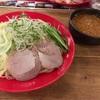 広島つけ麺本舗 ばくだん屋のつけ麺とから揚げ 食べてきました