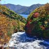 竜頭の滝の上流も絶景