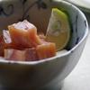 【バチマグロのづけと大和芋】今晩のおかずは簡単