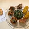 COREDO室町2『玖子貴(きゅうじき)』の薩摩揚げ。トウモロコシとかネギとかホタテとか、とにかく美味しい鹿児島の味。