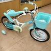 カラフルなお子様用自転車!