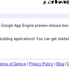 Google App Engine 乗り遅れたー