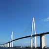 富山県射水市の新名所 - 新湊大橋
