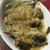 オイルサーディンのチーズパン粉焼き