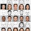 下手くそな似顔絵から、リアルな顔写真を生成するDeepFaceDrawing