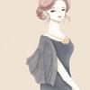 ケープ風ドレスのイラストを描き、その魅力について考えてみました