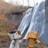 札幌市 鱒見の滝の晩秋