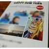しまうまプリントで年賀状を作った感想(^^)早い、綺麗、宛名印刷が最高(^^)