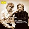 ブラームス:ピアノ協奏曲第1番 / ツィメルマン, ラトル, ベルリン・フィルハーモニー管弦楽団 (2005/2016 SHM-CD)