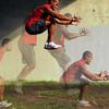 選手の生理的限界と心理的限界(多くの運動単位を動員できれば細い筋肉でも大きな力発揮が可能)