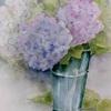 2016年: 6月『梅雨時を描く - 紫陽花(2)』