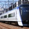 E353系S102編成臨時回送列車運転