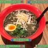 🚩外食日記(491)    宮崎ランチ   「らーめん 椛(MOMIJI)」③より、【ミニチャーハン】【黒ごま坦々麺】‼️