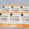 日経2万戻しと8月から増額する優待到着。