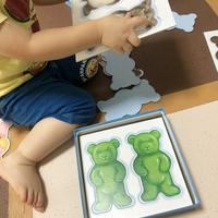 2歳児に初めてのボードゲーム「ラベンスバーガー テディ・メモリー」 型はめ・絵合わせからスタートして神経衰弱へ