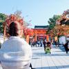 秋の奈良京都旅<着物で伏見稲荷大社>