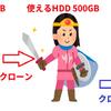 HDDから容量の小さいSSDに換装。初心者が不良セクタなどトラブルを解決した話!