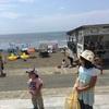 パパ夏休み 水族館