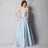 ピッコロのサロンコンサートで着用されるブルーカラーの演奏会ドレスを選ばれたお客様のご意見