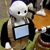 般若心経を唱えるロボット、IT化・機械化の波? :御朱印:山口観音・日枝神社