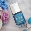 夏の限定色■Dior ヴェルニ 708 ブルードロップ&おまけのインココ