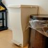1つで3種のゴミを分別!シンプルデザインのダストボックス|kcud スリムペダル 30 レビュー