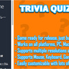 Trivia Quiz Game Template 全プラットフォーム対応!作って楽しいクイズゲームの完成プロジェクト