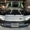 自動車ボディコーティング#134 ランドローバー/レンジローバー 4.4ウエストミンスターLM44 ボディ磨き+樹脂硬化型コーティング【Ω /OMEGA】+未塗装樹脂パーツコーティング