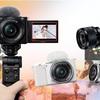 【カメラ】レンズ交換可能なVLOGカメラがやってきた!