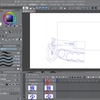イラスト練習 アニメ模写