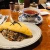 七ツ森(高円寺)和風オムライスは卵がふわふわで絶品!