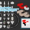 Zbrush2019とクリスタで平面画像に厚み付けて立体化(スナップショット3D)
