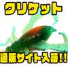 【Big Bite Baits】コオロギの形をした虫系ワーム「クリケット」通販サイト入荷!