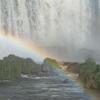 イグアスの滝(5)滝にかかる虹