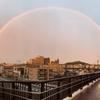3月のでかい虹