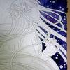 クリスマス平安姫新作開始:エルサ風平安姫描いてみたい願望
