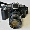 ミノルタ α-7000... 中古品完動品を購入 & ニコン F-501と並べて愛でる