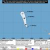 【台風20号の卵】10月14日現在で台風20号となりそうな台風の卵は日本の周辺にはないものの、中部太平洋にあるトロピカルデプレッション『EMA』が北西進!『越境台風』となって台風20号となる可能性は?