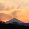 夕暮れ景色~その81『華やかな夕焼け雲と黄昏時』