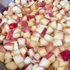 旬の紅玉で、アップルパイ用にりんご煮を作ったよ