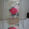 【袋帯】大きなピンクの牡丹がかわいい袋帯