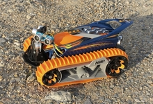 ラジコンを超低速で動かす!ラジコン自動走行への第2歩目