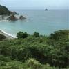 東萩から時々日本海を眺めながらローカル線で益田へーいざ原田直次郎展なり