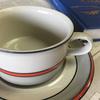 ARABIA アラビア Aslak アスラク ティーカップ&ソーサー デザインはアラビア社御用達のウラ・プロコッペ です。