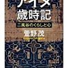 萱野茂『アイヌ歳時記』 / 神林長平『フォマルハウトの三つの燭台 <倭篇>』
